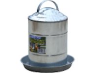 Poultry Fountain - Galvanized